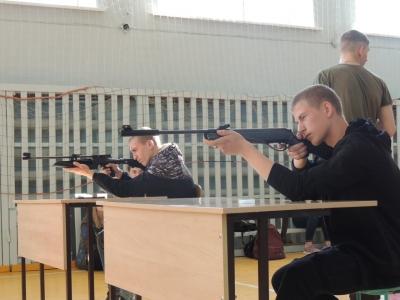 Соревнование по пулевой стрельбе